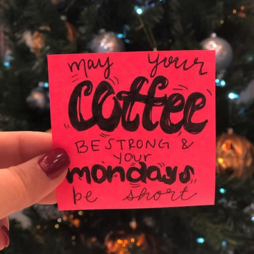 Wishing you lots of strong coffee and the shortest of Monday's on this cold afternoon! ❄️☃️ • • • #snowdays #circauptown #apartmentliving #uptownlifestyle #coffee